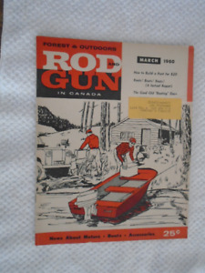 Mar 1960 Rod & Gun in Canada Magazine News about outboard motor