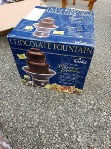 Chocolate fountain BNIB