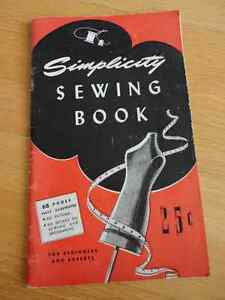 Vintage 1945 Simplicity Sewing Book for Beginners and Experts 68 London Ontario image 1
