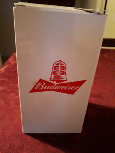 Budweiser Red Light Glasses