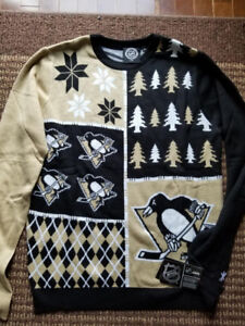 """NEW """"Forever"""" Unisex NHL & NBA Ugly Christmas Sweaters"""