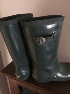 LL Bean rain boots, 2 different pairs for sale.