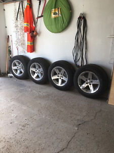 Dodge rims with tires
