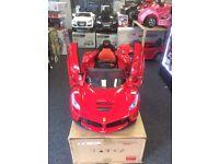 12v Ferrari Laferrari Ride On Electric Car with Remote Control,