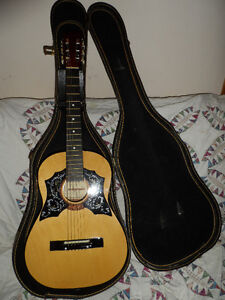 70's Magnum  Classical Acoustic Guitar With Case