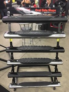 Oval nerf bars side steps Running boards