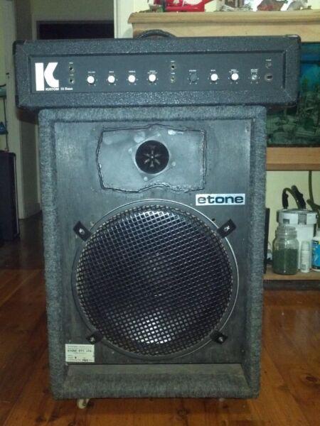 Amp Iii Kustom Iii Bass Amp Made in