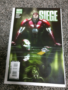 Siege #1 Variant Norman as Iron Man Loki Mirror Cover