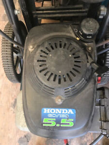 Honda 5.5HP 2400PSI pressure washer