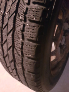 Bf Goodrich winter tires and rims set