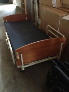 Hospital Bed, side rails, mattress, beautiful condition REDUCED!
