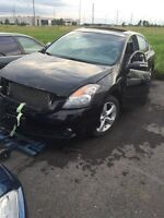 Nissan Altima parts complete part out 2007-2011