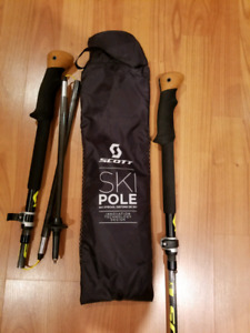 Scott Cascade C Ski/Trekking  Pole 4 Piece Carbon