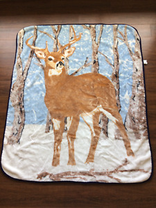 Warm Fleece Throw Blanket