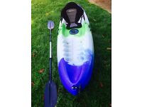 SIT ON KAYAK , INC PADDLE AND SEAT