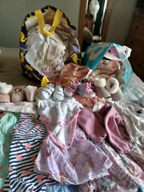 0-3 and 3-6 months baby girls clothes