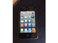 IPod touch 4 32gb crack screen
