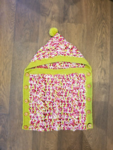knitted baby sack 0-3months