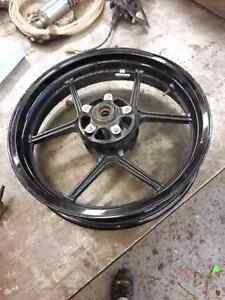 Zx 6 zx 636 front rim fits years 2013, 2014, 2015