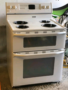Double oven and stove top 30""