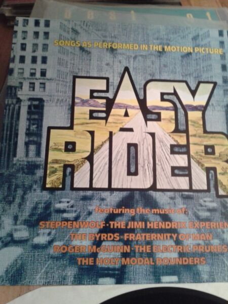Easy Rider- (Music From The Soundtrack) lp,D