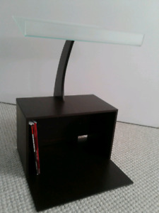 Music stand and storage cabnet