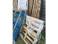 FREE wooden pallets + fire wood from broken dismantled shed