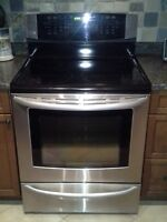 Kenmore elite convection oven electric