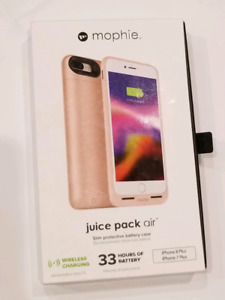 Used Mophie battery case for iPhone 8 plus/7 plus - Rose Gold