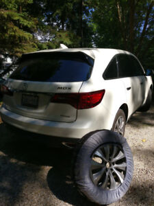 Acura  MDX 4SNOW TIRES ON RIMS