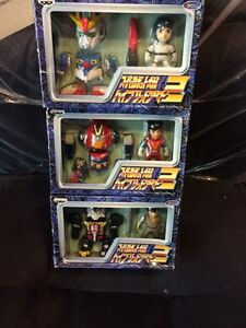 Super Robot SD figures exchange set (Not Chogokin)