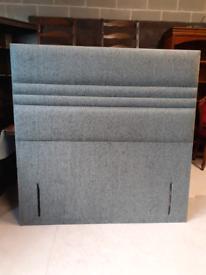🤩🤩Brand New Grey Fabric Double Floor Standing Headboard🤩