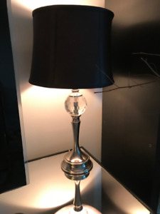 Pre-owned Black table lamp from Homesense