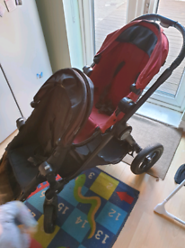 CITY SELECT DOUBLE BUGGY PRAM