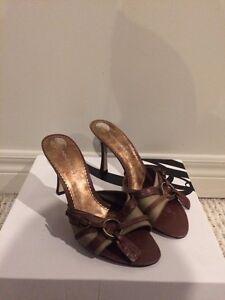 Nine West slip on summer heels  London Ontario image 1