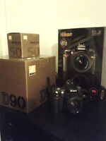 Nilkon D90 + lentille AF Nikkor 50mm f/1.8 lens. Video 1080p.