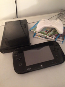 Wii U and games - Perfect condition, barely used