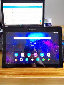 Lenovo Tab2 A10 Tablet with 64G Samsung MicroSD and Case