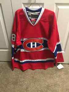 New With Tags Authentic Signed Prust MTL Canadians Jersey London Ontario image 3