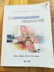 ***LA COMMUNICATION INTERPERSONNELLE, 2e ÉDITION, T.E.S***