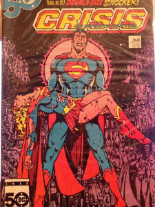 CRISIS ON INFINITE EARTHS 7 Comic Book Death Of Supergirl