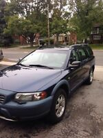 Volvo XC70 2002 (with additional winter tires)