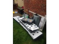 Complete hydroponics nft set up