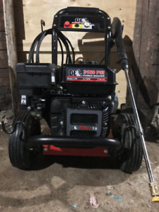 BE Gas Pressure washer 7.0 HP 210CC 3100 psi