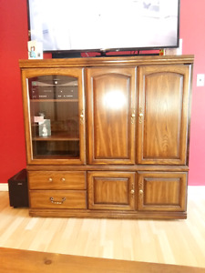 Entertainment Unit 75 or best offer