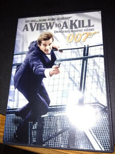Brand New James Bond A View to a Kill DVD