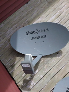 Shaw satellite dish for sale
