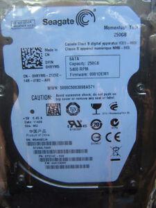 "2.5"" hard disk slim (7mm) 250 GB"