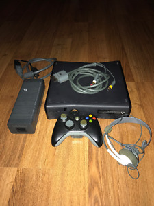 XBOX Wireless 360 Slim - Black - 25+ games