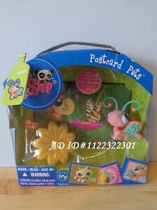 LPS Littlest Pet Shop Postcard Pets Butterfly #1357 BRAND NEW